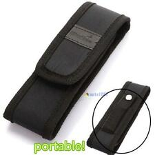 Black 16cm  Nylon Holster Holder Pouch Case for Flashlight Torch MTC