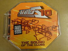 CD / ATMOZ 10 - THE SOUND OF THE CLUBS