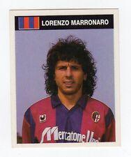 figurina CAMPIONI E CAMPIONATO 90/91 1990/91 numero 55 BOLOGNA MARRONARO