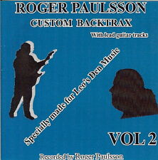 ROGER PAULSSON'S 'SHADOWS STYLE' BACKING TRACKS CD  Vol.2   With & without lead.