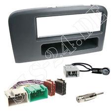 Volvo S80 T/K DIN Radio Einbauset Radioblende ISO Anschlusskabel Antennendapter