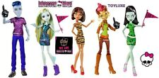 We Are Monster High STUDENT DISEMBODY COUNCIL Doll 5 Pack EXCLUSIVE Slo Mo Gilda