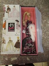 Limited Ed.Slikstone Barbie Fashion Model Collection 45th Anniversary Barbie 04