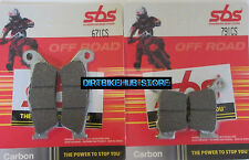 SBS FRONT & REAR BRAKE PADS FIT KTM SX EXC SXF 125 250 200 250 300 350 450 04-16