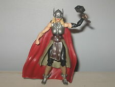 "Marvel Universe Infinite THOR Jane Foster Figure Comic Pack 3.75"" Legends Loose"