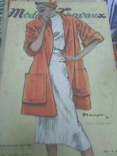 Modes et Travaux mai 1950 elle vogue chanel dior haute couture patron