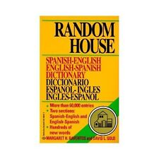 Random House Spanish English Dictionary (2nd Ed.) Paperback 60,000 Entries
