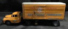 1950s Vintage Tin-Friction ABC Freight Forwarding Semi Truck w/Trailer Japan