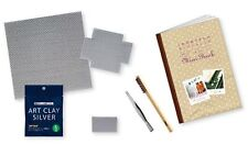 Art Clay Starter Kit Basic Silver Clay PMC Tools Kiln Set for Charms & Jewelry