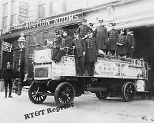 Photograph Vintage New York Fire Department 1912c   8x10