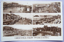 CPA Postcard - UK - Worthing, Greetings from