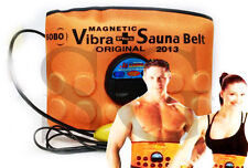 3 in 1 Sauna Massager Slimming Vibrating,acupressure Belt Vibration Fat Burner #