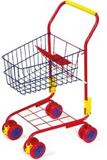 Metal Childrens Kids Shopping Trolley Role Play Shopping Toy Pretend Play New