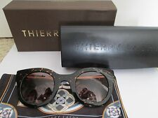 New Authentic Thierry Lasry Draggy 724 Tortoise Gold Sunglasses $455 w/ Case