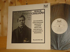 FEODOR CHALIAPIN Operatic Arias Recorded 1922-1928 PEARL HISTORICAL UK LP MINT
