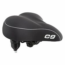 Sunlite Cloud-9 Bicycle Suspension Cruiser Saddle, 49525 by Cloud-9 black NEW