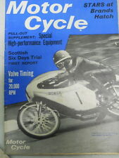 Motor Cycle Magazine, May 5, 1966, Scottish Six Days Trial,   blue box 1