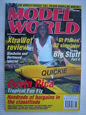 RC Model World - Radio Controlled Aircraft- June 2001 Complete with Unused Plan