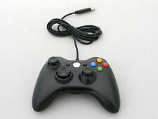 Old Skool Wired XBOX 360 & PC Dual Analog Rumble Controller - Black