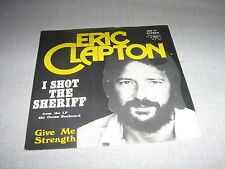 ERIC CLAPTON 45 TOURS BELGIQUE I SHOT THE SHERIFF