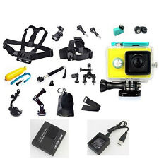 Accessory Waterproof Case Chest Head Mount Strap for Xiaomi yi Sports HD Camera
