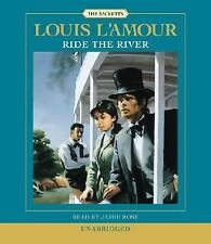Louis L'Amour RIDE THE RIVER Unabridged CD *NEW*$25 Value FAST 1st Class Ship!
