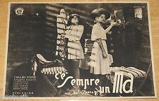fotobusta film C'E' SEMPRE UN MA ! Carla Del Poggio Rubi Dalma Luigi Zampa 1943