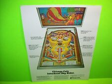Chicago Coin SKY RIDER Original NOS 1974 Flipper Game Pinball Machine Sale Flyer
