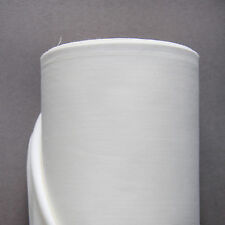Cotton Sateen Curtain Lining - Ivory - 10m Roll