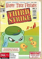 Happy Tree Friends - Third Strike (DVD, 2009).Wholesale_Media.Case is Brand New