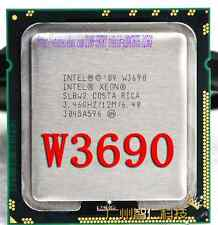 Free shipping Intel Xeon W3690 3.46GHz Six Core 12m Cache 6.4 GT/s SLBW2 CPU