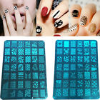 Multi-Colors DIY Nail Art Image Stamp Stamping Plates Manicure Template 1pcs