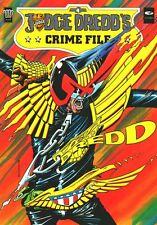 2000AD ft JUDGE DREDD - JUDGE DREDD'S CRIME FILE - Vol 4 - VGC - 2000AD