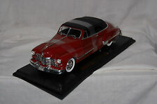 1947 Cadillac Series 62, 1/18 scale, diecast, Made in China