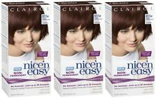 Clairol Nice n Easy Hair Dye (815R Deep Mahogany Brown) Lasts up to 24 Shampoos