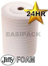 2 Rolls of 500mm (W)x 75M (L)x 4mm JIFFY FOAM WRAP Underlay Packing Packaging