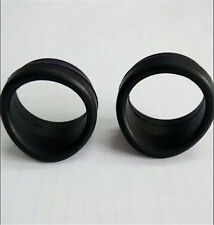 2PCS Eyepiece Eye Cups 32-34MM Rubber Eye Guards for Stereo Microscope Telescope