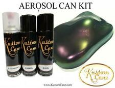 400ml AEROSOL CAN KIT OF PURPLE PASSION FLIP PAINT - GUITAR, AIRBRUSH, PEARL