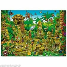 HEYE JIGSAW LOST TEMPLE -1000PC NEW