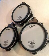 Roland PD-85 BK Drum Pack  CLEAN V drums three drums