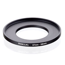 37mm to 58mm 37-58 37-58mm37mm-58mm Stepping Step Up Filter Ring Adapter
