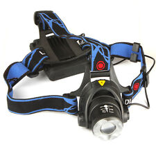 1600Lm CREE XM-L T6 LED Zoomable Adjust Focus LED Headlamp Head Torch Light