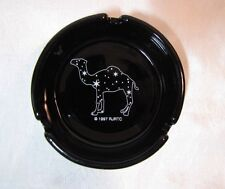 VTG RJRTC CAMEL CIGARETTE GLASS ASHTRAY STARS CONSTELLATION hump day ADVERTISING