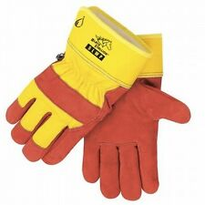 Waterproof Insulated Cowhide Winter Work Gloves Large 21354