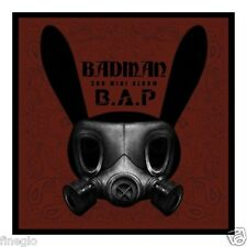 B.A.P BAP - Badman (3rd Mini Album) CD+48p Photobook+Matokki Stencil+Photocard