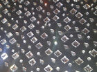 300 x CLEAR Round Square Teardrop Self Adhesive DIAMANTE Stick On Gems Cards