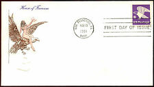 """USA 1981 """"B"""" Eagle Definitive FDC First Day Cover #C35887"""