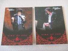 Michael Jackson - No 17 & 77 - 2 Panini Trading Cards 2011 *RARE* aus USA