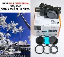 Sony A6000 -=UNIQUE=- 24 Mp Full Spectrum UV+VIS+IR converted Infrared camera