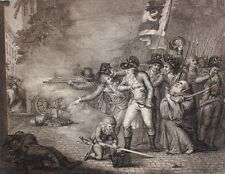 Französische Revolution Normandie Kapuziner Bajonett Pistole Paris Royalisten